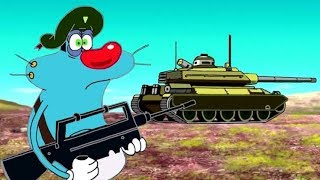 OGGY and the cockroaches Military Compilation #1
