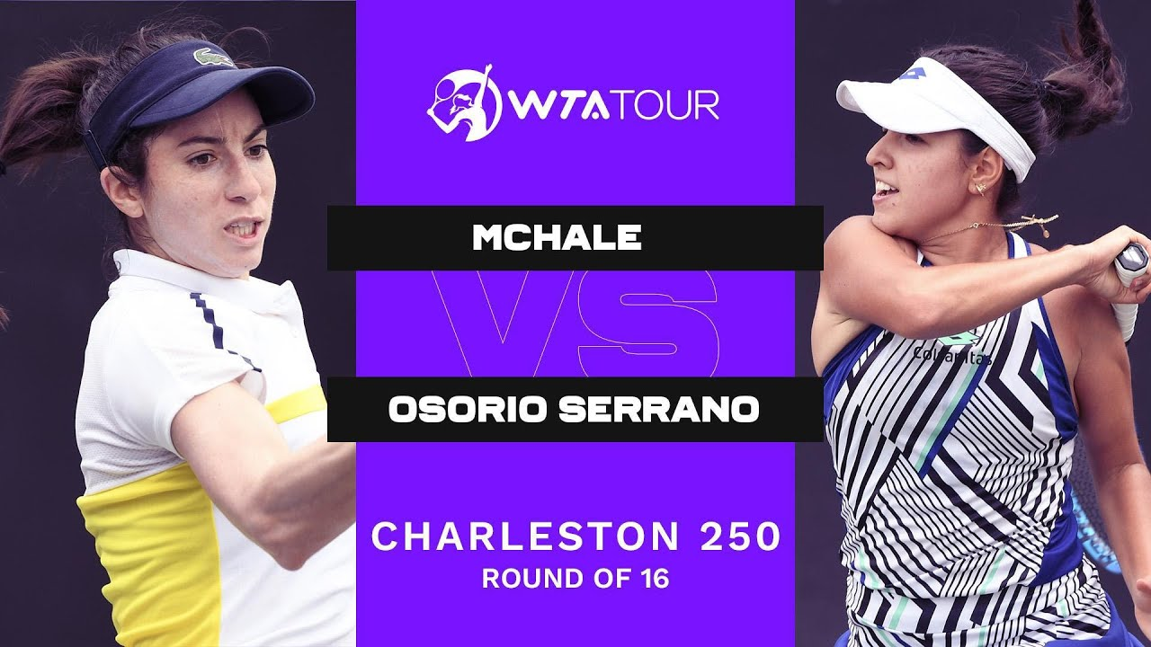 Christina Mchale vs. Maria Camila Osorio Serrano | 2021 Charleston 250 | WTA Match Highlights
