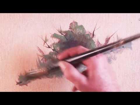 How to Paint a Bush