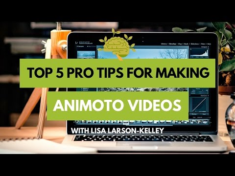 Ep14: Top 5 pro tips for creating awesome videos in Animoto