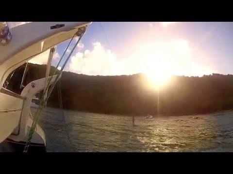 Fun on Norman Island, British Virgin Islands