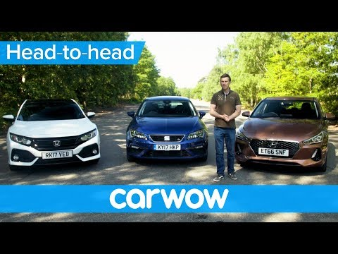 Honda Civic vs Hyundai i30 vs SEAT Leon 2018 review – which is best| Head2Head