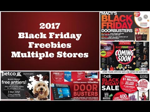 Black Friday Freebies! Multiple Stores Reviewed