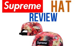 63aeae7957337 Supreme Galaxy SnapBack Cap Hat Review ...