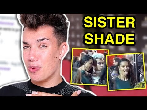 JAMES CHARLES GETS SHADED BY A CELEBRITY ON THE RED CARPET thumbnail