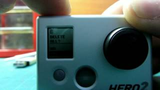 GoPRO HD Hero2  How do you reset video&photo counter........
