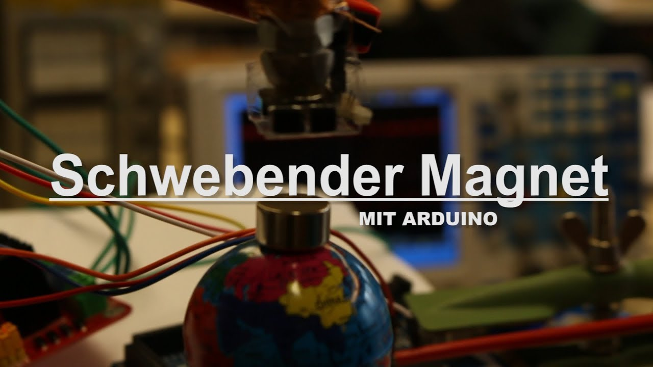 schwebender magnet mit arduino! (levitation) | jona - youtube