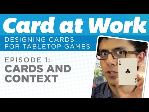 Card at Work: 1 - Cards and Context