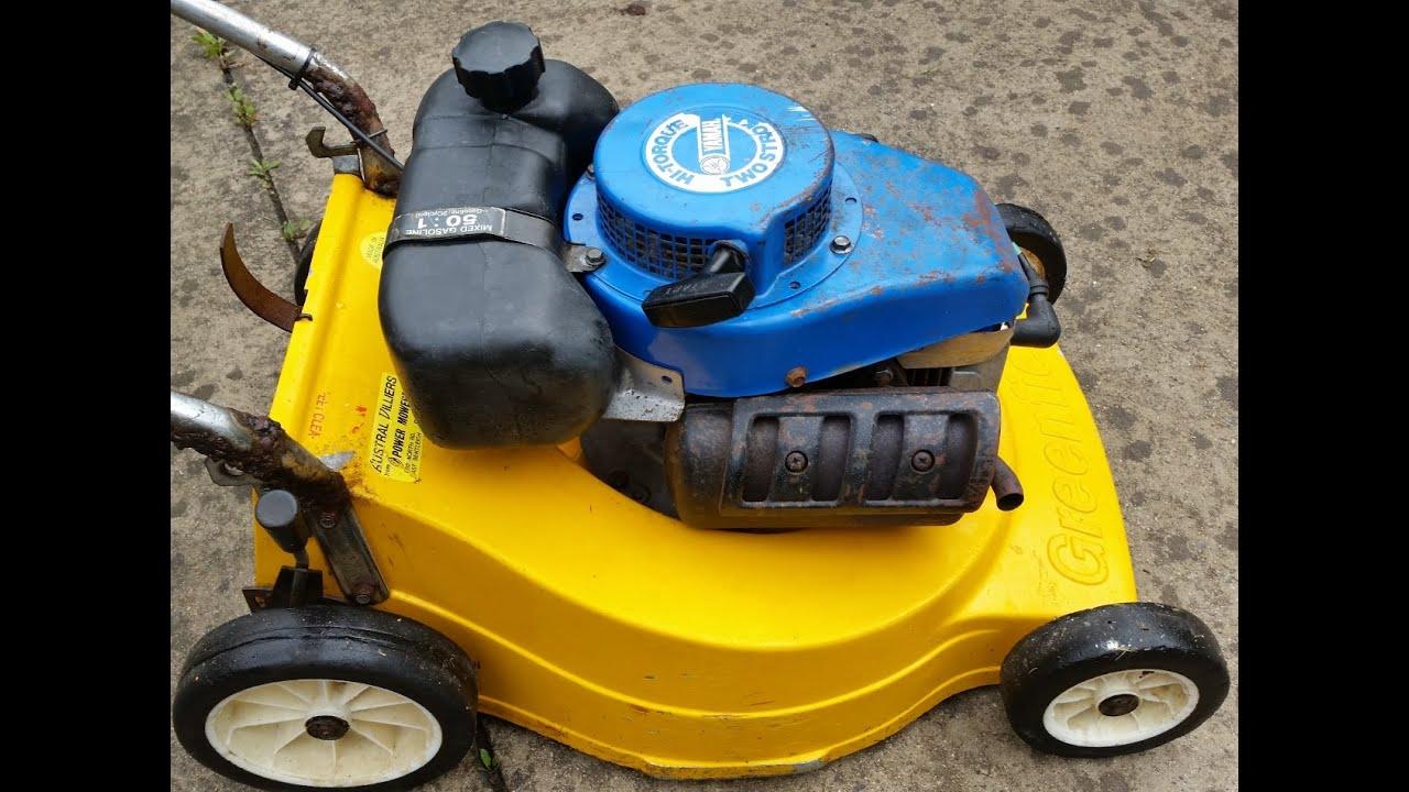 3hp Mt110 Yamaha Greenfield Mower Youtube