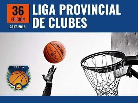 LPC - 2017/18 - Reclasificación - Juego #2 - Sportivo Pilar vs Ciudad (Saladillo)