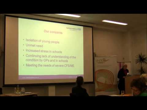 Action for M.E. Sheffield Conference 2014 part 5/5 - Alison Wray