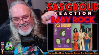 SAS Group Reaction - Baby Rock - 1976 Indonesia - First Time Hearing - Requested