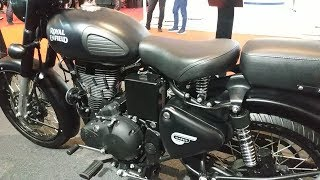 (2019) Royal Enfield Classic 500 Option Colors Stealth Black
