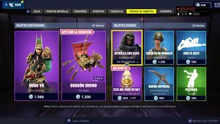 THE *NEW STORE* OF FORTNITE TODAY DECEMBER 2 *NEW SKIN* GUAN YU + PICO AND ALADELTA EPICS!