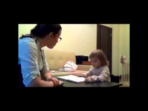 Результаты занятий логопеда с неговорящим ребенком (часть1)