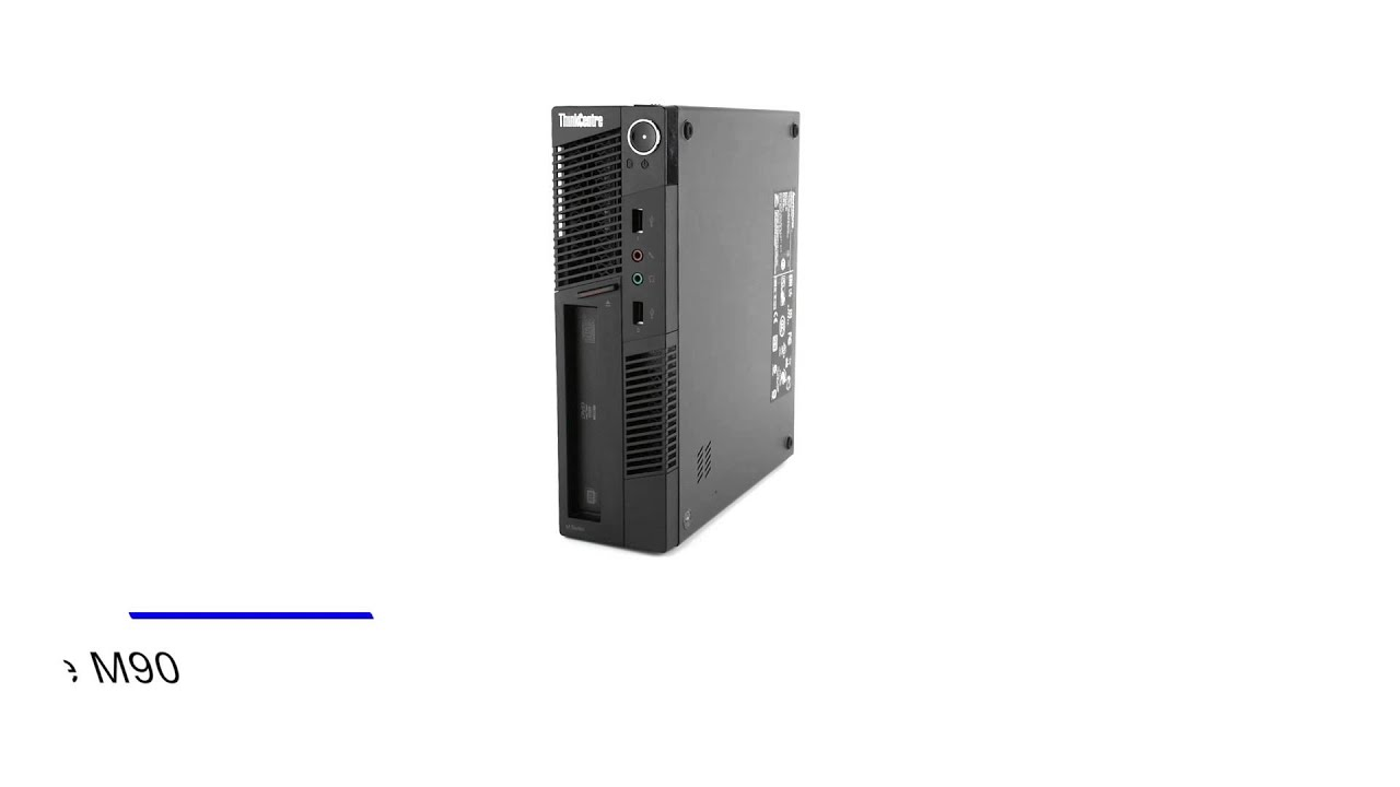 Lenovo ThinkCentre M90 Ultra Small Form Factor Desktop Computer ...