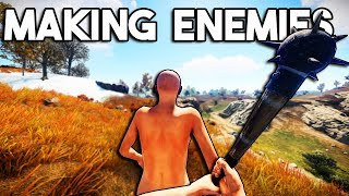 Video Making Enemies - Rust Solo Survival download MP3, 3GP, MP4, WEBM, AVI, FLV November 2018