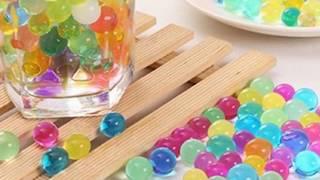 Orbeez miękkie kulki wodne - Rozpakowanie i testowanie MOONBIFFY Orbeez woda z kryształu