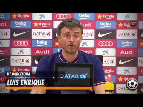 Messi, recuperado y listo: Luis Enrique