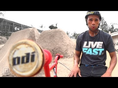 How TJ Ellis Customizes His Free Agent Lodus BMX Bike: Crooked World BMX