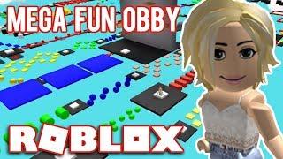 WE PLAY 100 COURSES//Roblox-Mega Fun Obby