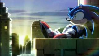 """The second ending theme from Japanese anime Sonic X called """"The Shi..."""