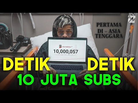 10 Million Subs - Atta Halilintar is the King of YouTuber of Southeast Asia