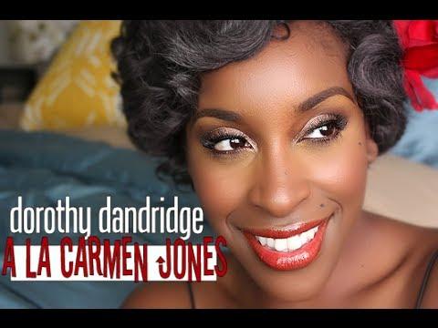 Dorothy Dandridge Makeup Tutorial | Black History Series Part 3