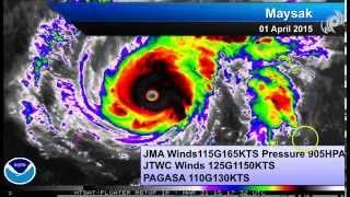 Typhoon Maysak Breaks Records , Impact in Philippines Easter Sunday