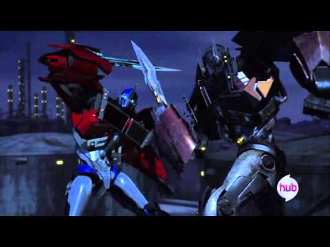 Transformers Prime Series Optimus Prime AMV We Won't Back Down