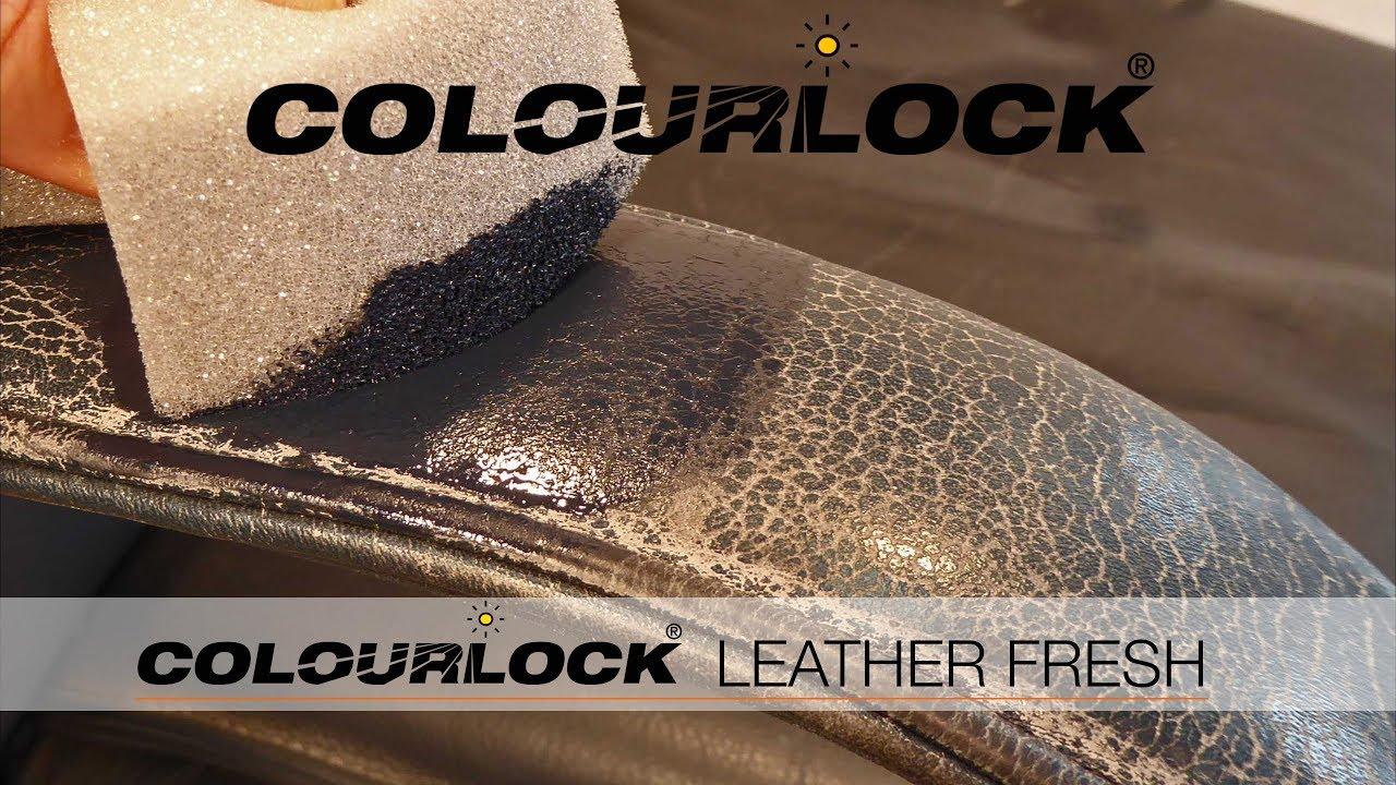 Colourlock Leather Fresh Leather Furniture Youtube