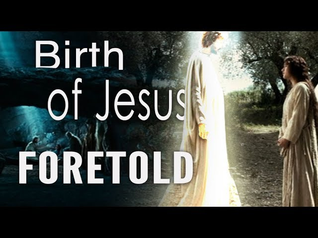 Epic Bible Prophecy! (Birth of Jesus Foretold In The Old Testament)