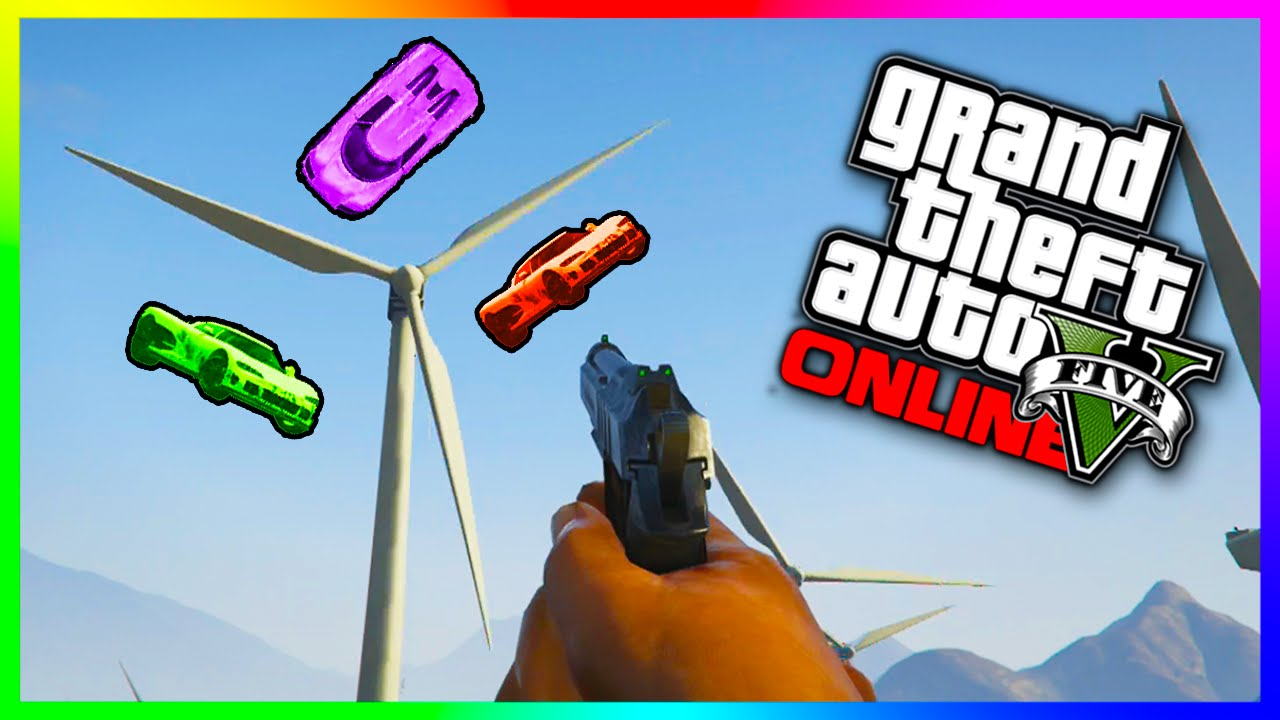 GTA 5 Epic Races – HILARIOUS WINDMILL BASEBALL!!! GTA 5