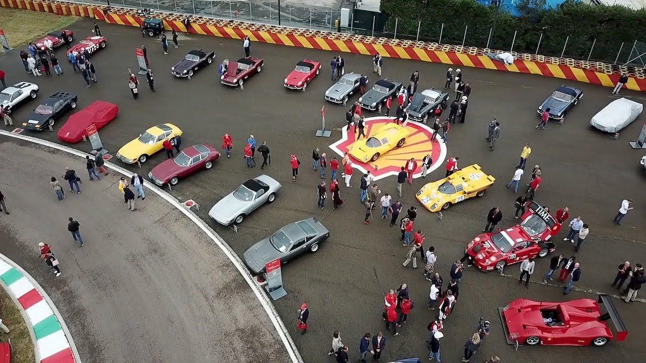 Ferrari 70th Anniversary At Fiorano Event Footage Youtube