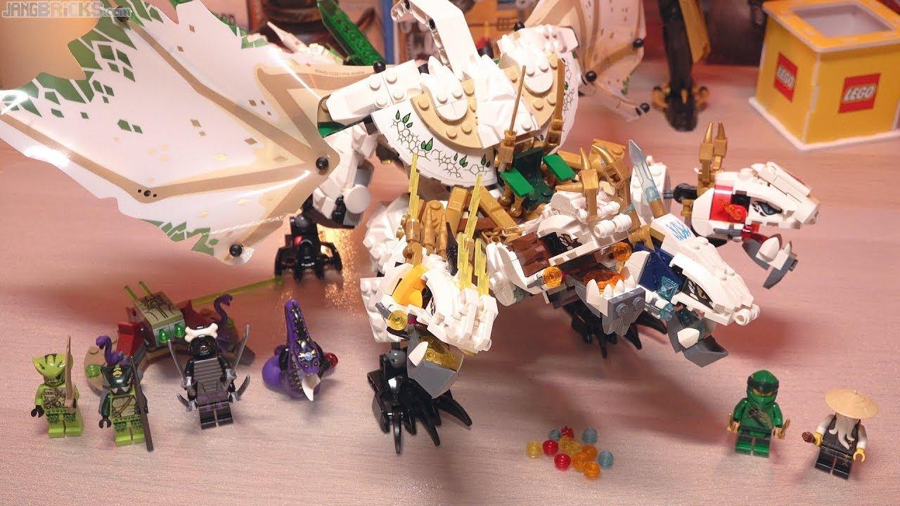 Build Lego Ninjago Legacy Ultra Dragon 70679 Youtube