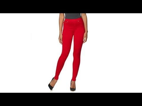 DG LUXSPORT Luxe Denim Skinny Jegging  Fashion Colors. http://bit.ly/2WDEyq3