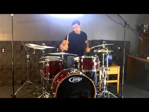 Skylar Grey Ft. Big Sean & Travis Barker - Back From The Dead ( Drum Cover / Remix )