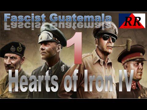 Hearts of Iron #1 Fascist Guatemala