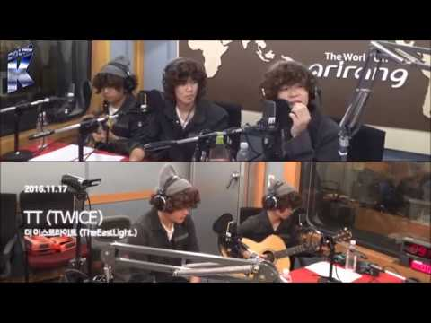 THE EAST LIGHT (더이스트라이트) - TWICE TT COVER ON ARIRANG RADIO 20161117