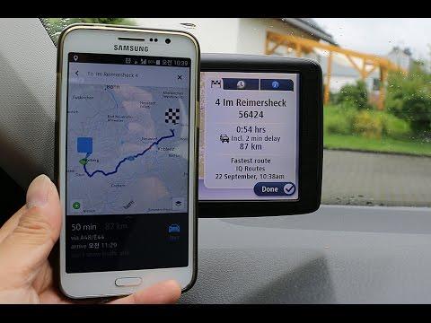 노키아 히어 오프라인맵 내비게이션 리뷰(Here Map Offline Navigation Review)  - 2015.09.22