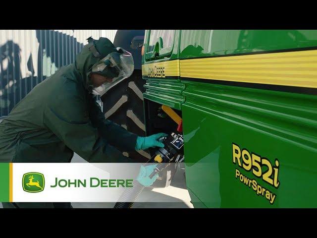 John Deere - PowrSpray - Llenado rápido y cómodo