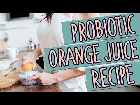 Probiotic Orange Juice Recipe