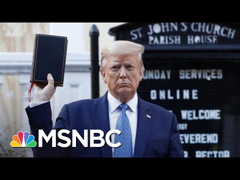 Episcopal Bishop 'Deeply Offended' By Trump Using Bible As A 'Prop' | The 11th Hour | MSNBC