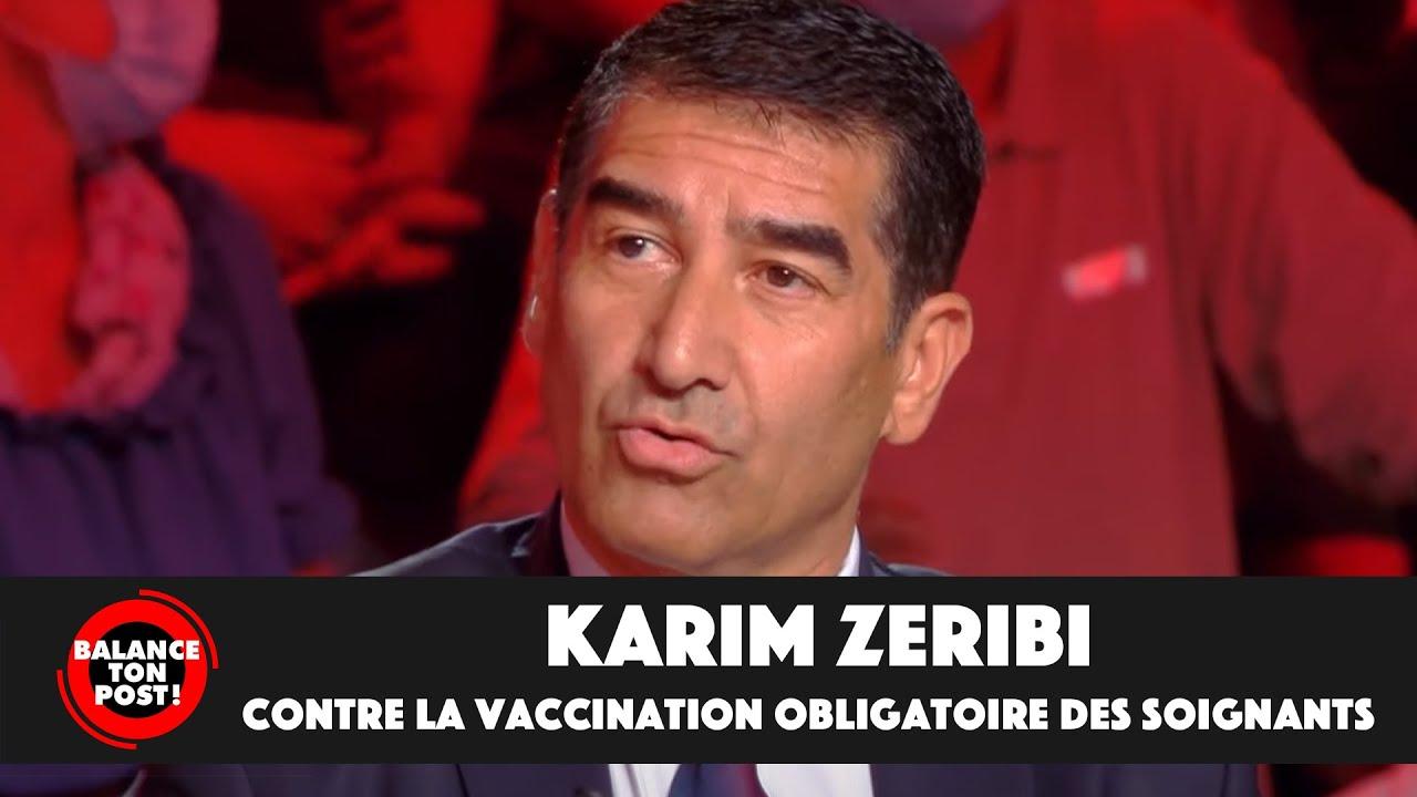 Replay TPMP : Karim Zeribi explique pourquoi il est du côté des soignants, contre la vaccination obligatoire