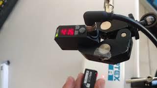 Detección o ausencia de barreno de la pieza. OptexFA BGS-DL30-CP