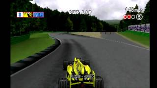 F1 2000  on Playstation 1 at Hockenheimring