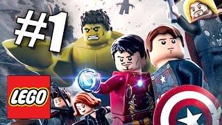 БИТВА ЗА ЗАМОК! LEGO Мстители: Эра Альтрона! #1 (60 FPS) Marvel's Avengers