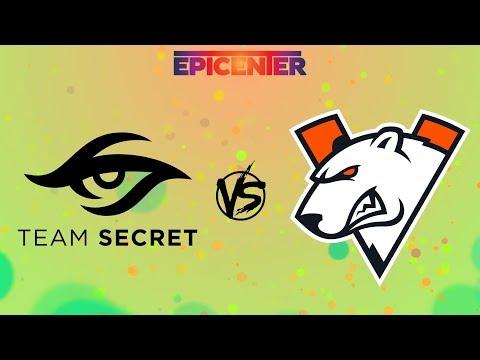 [RU] Team Secret Vs Virtus.pro - EPICENTER Major Playoff BO3