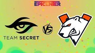 🔴 [RU] Team Secret vs Virtus.pro - EPICENTER Major Playoff BO3