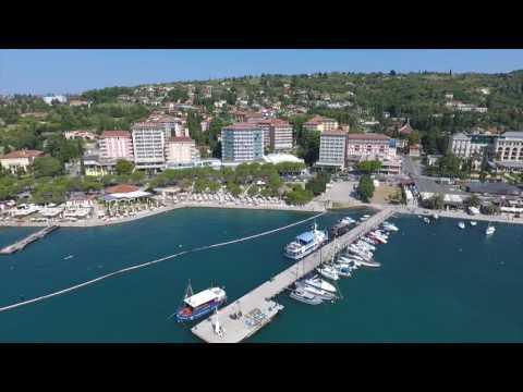 Video Hotel Slovenija, Portorose from the drone